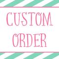 Custom Listing for Janine