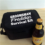 Personalised Cooler Bag; Bridal party gift;Groom Survival Bag;Beer cooler;Groom