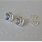 Labradorite & Sterling Silver stud earrings.