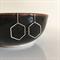 925 Sterling Silver Hexagon Drop Earrings
