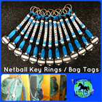 KEY RINGS TEAM NETBALL SOFTBALL BASKETBALL HOCKEY ROLLERSKATING DANCE CHEER LEAD
