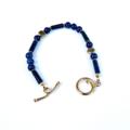Lapis Lazuli and Gold bracelet