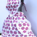 Pink Apple Blossom girls apron
