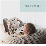 Pdf Knitting Pattern - Shavasana Knitted Beanbag - Pattern Only