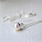 """""""Gumnut"""" Freshwater Pearl and Sterling Silver Necklace."""