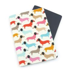Dachshund Dog Passport Cover / Passport Holder