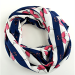 Pink Flamingo Infinity Scarf