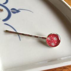 Japanese washi paper Resin hair pin