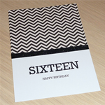 Boys 16th Birthday card OR can be any age!