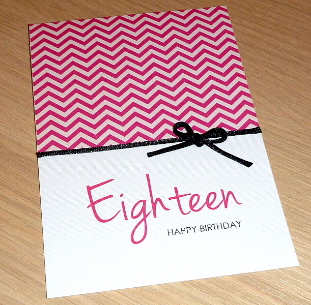 Girls 18th Birthday Card Or Can Be Any Age Vicki G Madeit