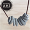 Cement to be - Cement handmade necklace