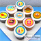 """Hey Duggee Edible Icing Cupcake Toppers - 2"""" - PRE-CUT"""