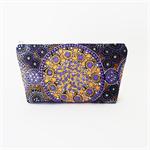 Purple Australian Aboriginal Art Print Bag