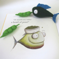 Piranha Book and Felt Food Set