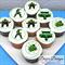 "The Incredible Hulk Personalised Edible Icing Cupcake Toppers - 2"" - PRE-CUT"