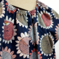 dress - sunflower / organic cotton peasant-style / eco friendly / girl 5 years