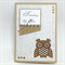 Thinking of You/Blank Card - Kraft, Laser Cut Owl