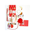 The Big Red Gift Wrap Collection | Scrapbooking | Gift for Paper Lover