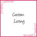 Custom Listing for caseystow
