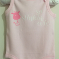 Baby Girl Onsie, Size 0