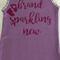 "Baby Singlet, Purple, Size 00 ""Brand Sparkling New"""
