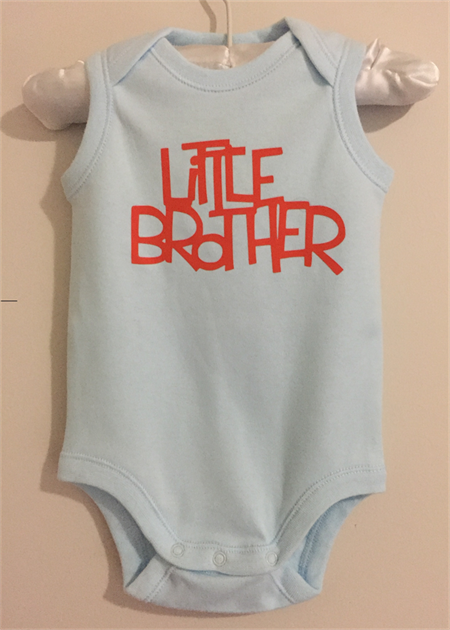 Baby Boy Onsie, Little Brother