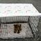 Dog crate cover and pad set . pet crate mat . pet crate cover. pet crate mat.