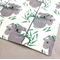 wash or burp cloth - koala / organic cotton bamboo / baby toddler boy girl
