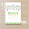 sheep - farm invite - childrens invitation - printable invitation -