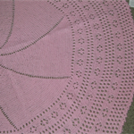 PURE WOOL BABIES SHAWL