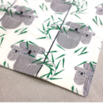 wash or burp cloth - koala / organic cotton bamboo / baby toddler boy girl