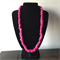 Pink edgy necklace
