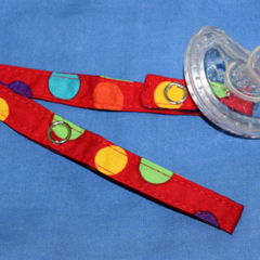 Dummy - Pacifier - Toy strap