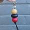 Key ring, key chain, bag charm, back to school key ring, FREE postage