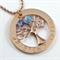 Family Tree necklace Personalized Mums Family Tree Necklace Birthstone Necklace