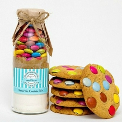 SMARTIE Cookie Mix in a bottle. SMALL - makes 6 delicious cookies