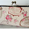 French Linen Inspired Purse Kiss Lock Frame