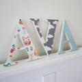 Wall or Door Name Plaque. 17cm. 3 Letters.