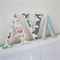 Wooden 17cm Wall or Door Letters. 3 Letters.