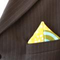 Pocket Square - Mellow Yellow