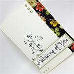 Thinking of You Card - Beautiful Japanese Paper