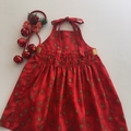Size 2  Golden Spots Dress