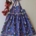 Size 3 - 'Kitty at Christmas' Dress