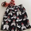 """Sizes 3, 4, 5 & 6  - """"HOHOHO""""  Christmas Shorts"""