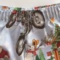 """Size 4 -""""Racing Santa"""" Christmas Shorts"""
