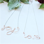 LOVE & JOY necklaces