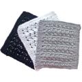 3 washers/dishcloths, Enviro friendly. Greys,watermelon, St Kilda or mix & match