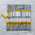 Free post. Crochet hook and sock needle organiser