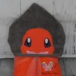 Charming Fire Dragon Towel  Poke