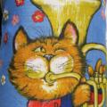 Metro Retro 'Strike up the Band' Vintage Tea Towel Apron. Birthday Mother's Day